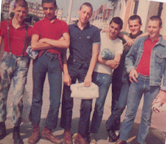 Bally as a mod in late 70's
