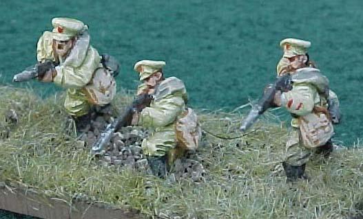 Jackson Gamers' Russian Civil War miniature figures