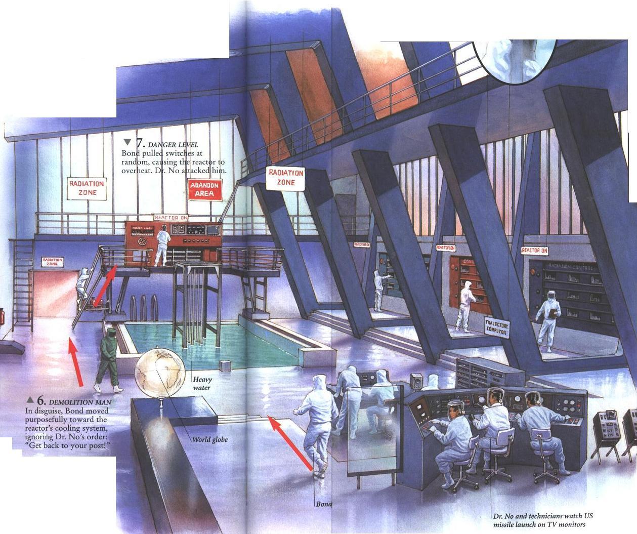 ... Secret World of 007. Pictures. Dr. No's Lair (Dr. No)