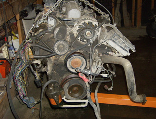 GM 3.8L fuel injected engine