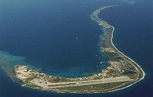 Kwajalein Atoll.