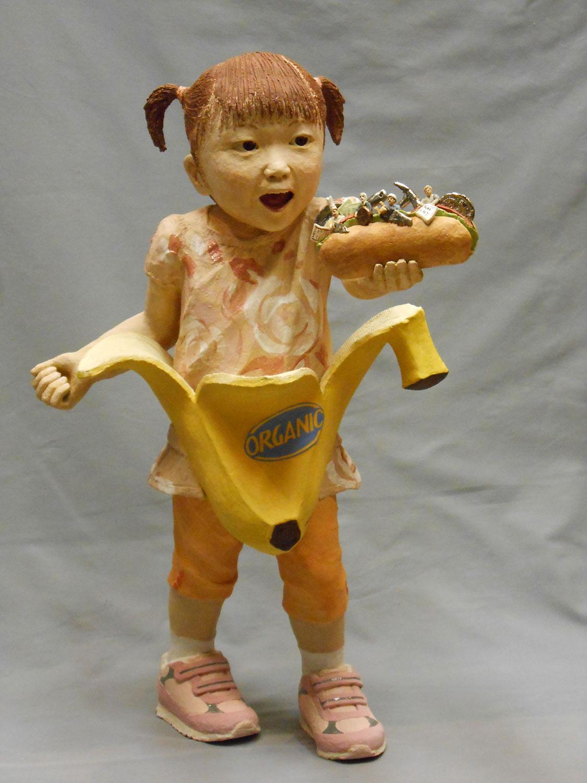 Art of Hirotsune Tashima's-Nakid fact of making Ceramic Sculptures-etaphro