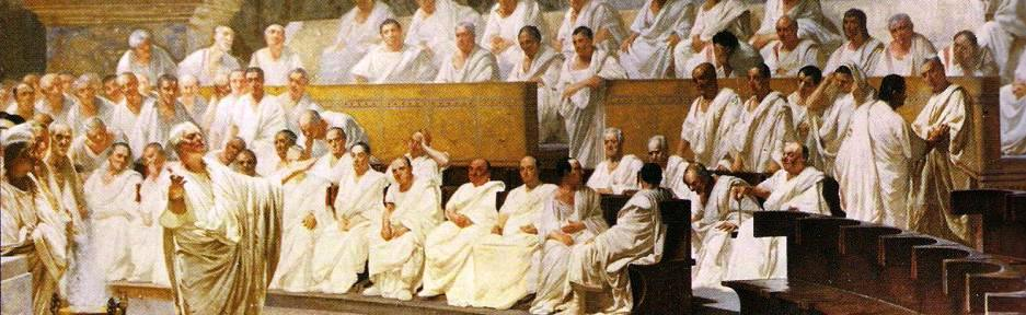 a look at the history of the roman senate