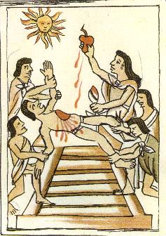 The Aztec And Human Sacrifice