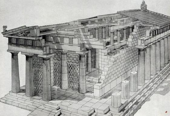 Greek Architecture Drawing architecture in ancient greece