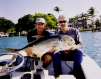 Click on the Jack Crevalle for saltwater hot spots