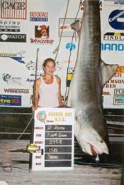 Record tiger shark catch for a girl hooked on big game fishing, CatholicWeekly.com