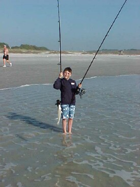 Whiting ...hold this pole