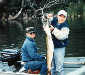 Mike's 15 Pound Muskie