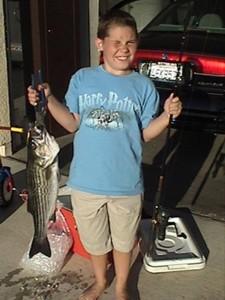 Blake's Nimbus Dam striper