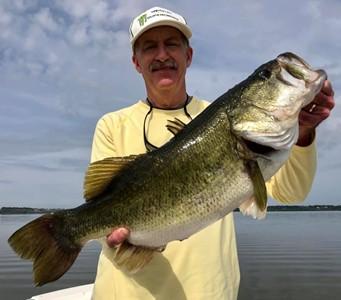 Trophy bass!