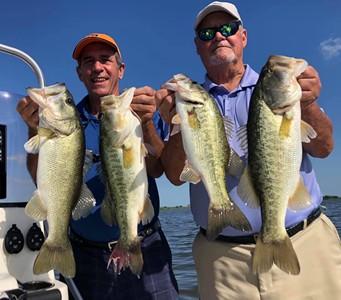 Florida bass fishing.