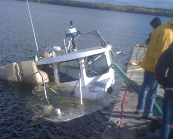 Submerged Research Vessel Monitor