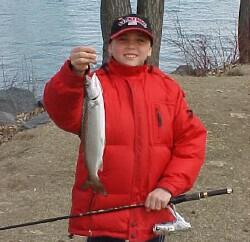 Saranac River Spring Salmon