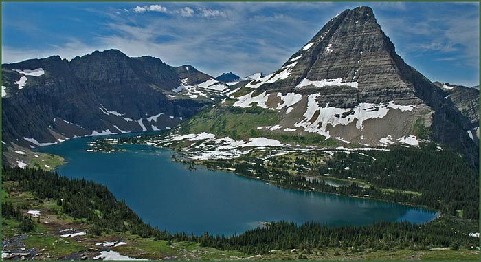 Ice age floods tour travel destinations glacial lake missoula lake hidden lake overlook in glacier national park publicscrutiny Choice Image