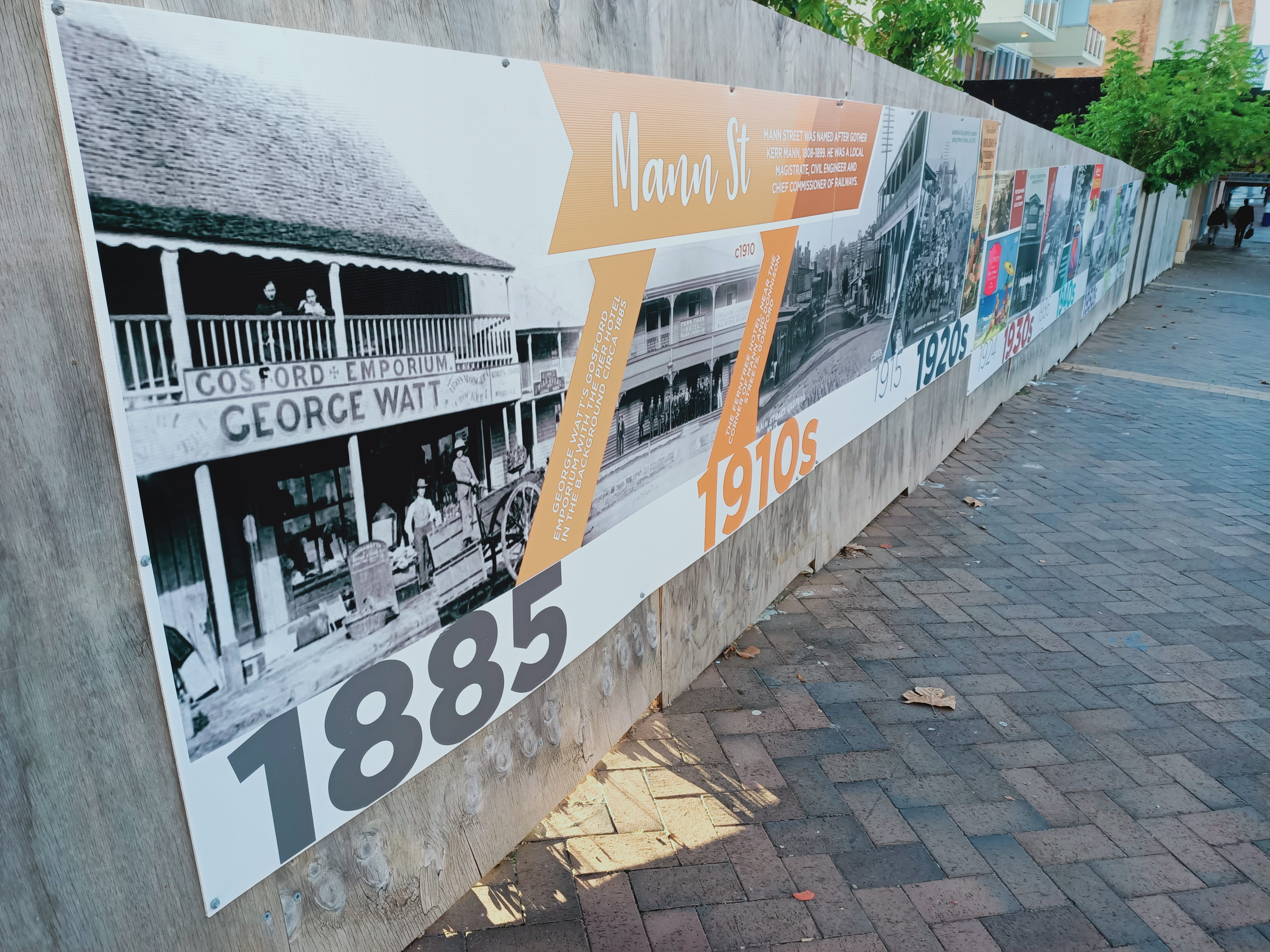 135 years of the Mann Street story.