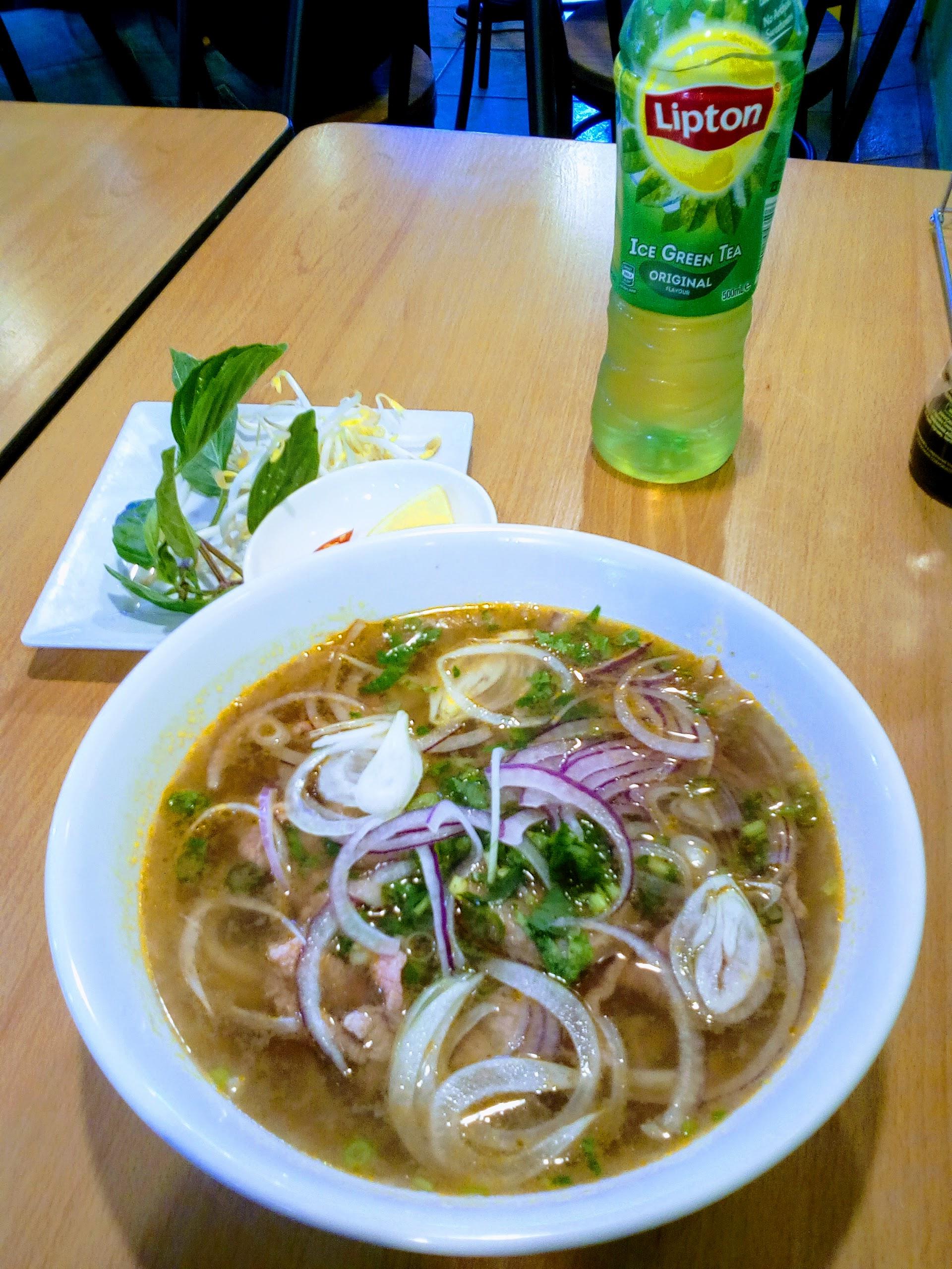 Pho, at Saigon Chopsticks, at The Entrance