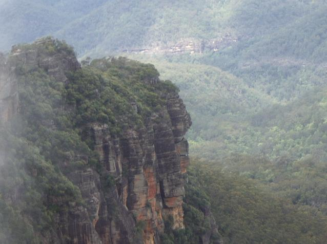 Pictures of the Blue Mountains, Katoomba, NSW, Australia