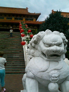 Nan Tien Temple near Wollongong on NSW's South Coast