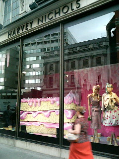 The not so famous, but equally upmarket Harvey Nicholls