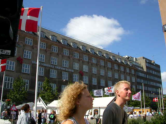 Typical Danes in the Danish capital