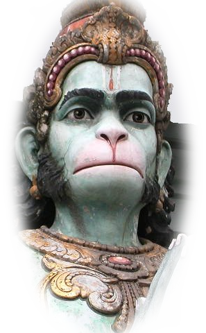 The gods of Hinduism -- Hanuman