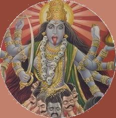 The Gods of Hinduism -- Kali