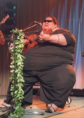 Hawaiian hero Israel Kamakawiwoole, RIP