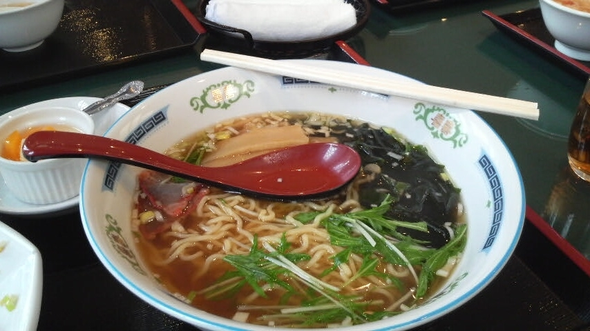 Ramen I ate at some intersection Chinese restaurant in Ichinoe, Edogawa Ward, Tokyo, the very same intersection I was standing upon, when the Great Earthquake of 2011 struck!