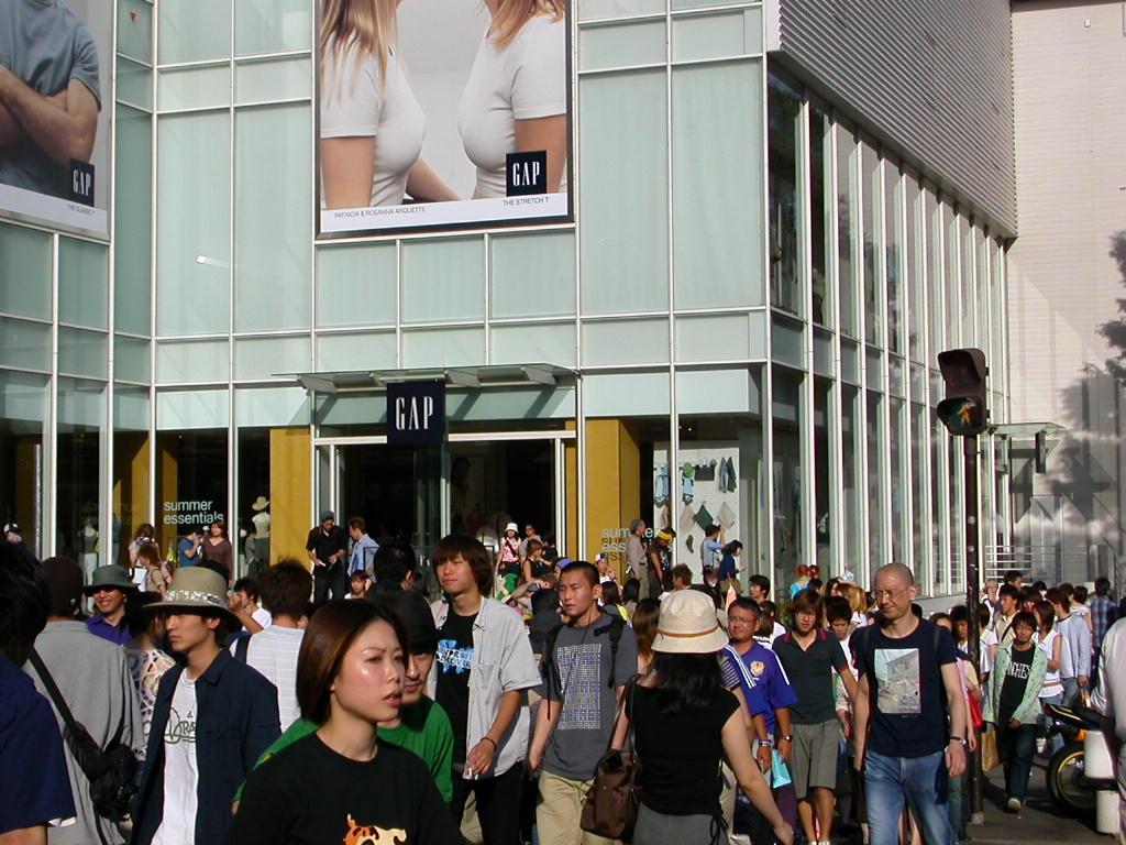 Fashion casualties in Tokyo, Japan