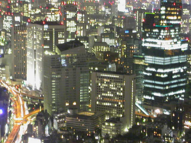 Night View from Roppongi Hills Tower