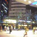 Christmas Illumination lights display near Roppongi Hills