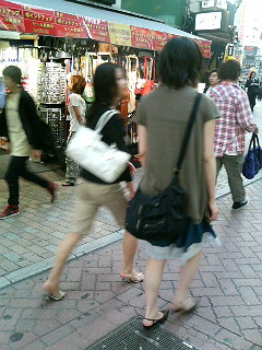 On the streets of Shibuya