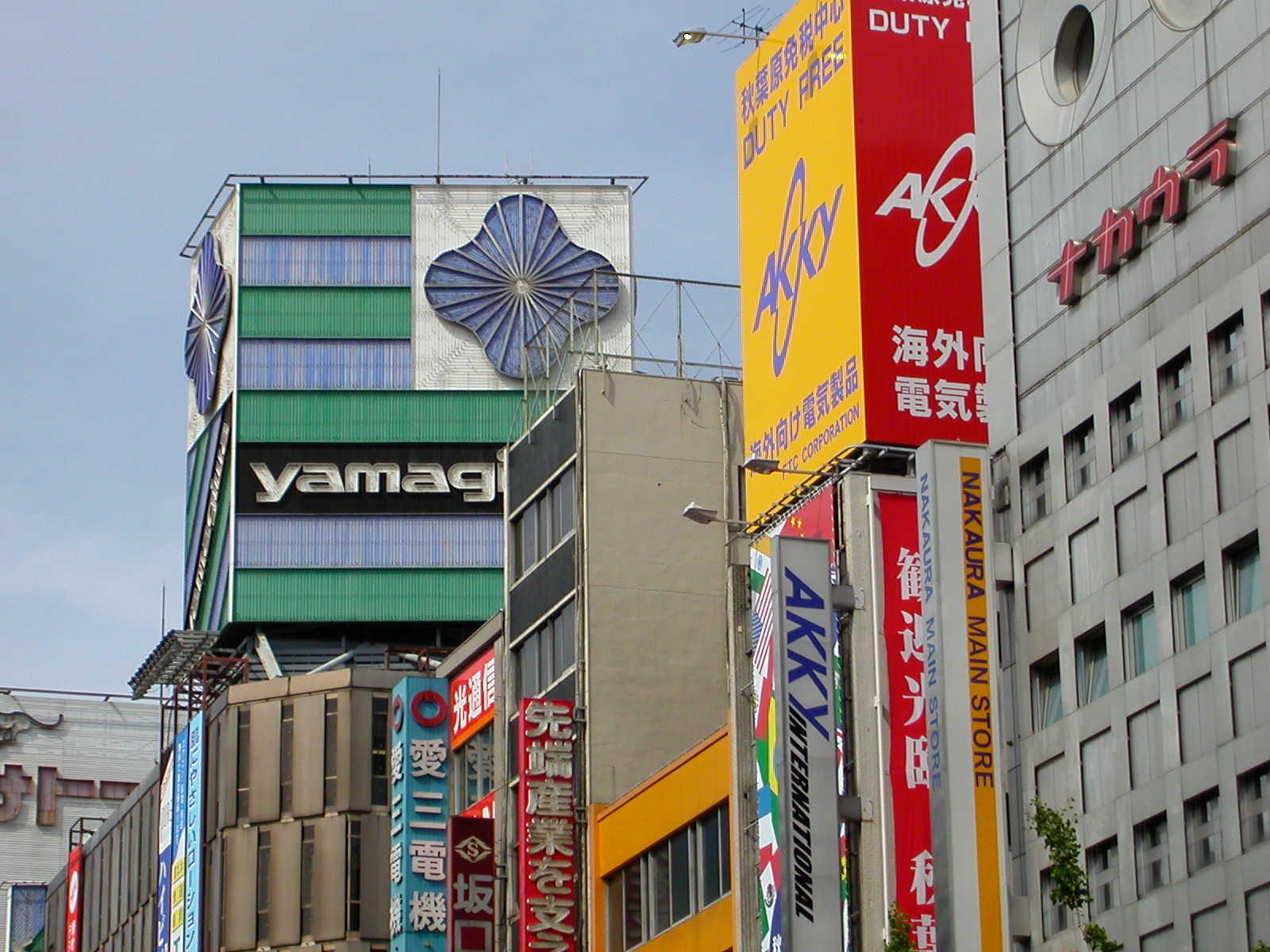 Yamagiwa in Akihabara Electric Town