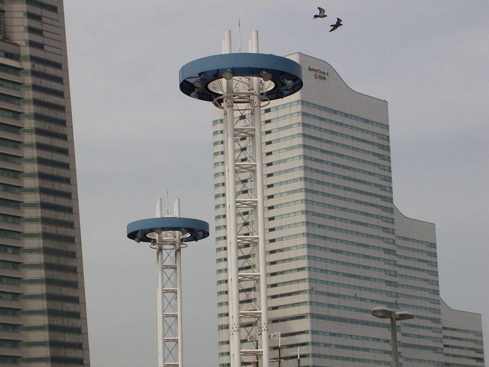Viral Tubes, near Landmark Tower, Yokohama