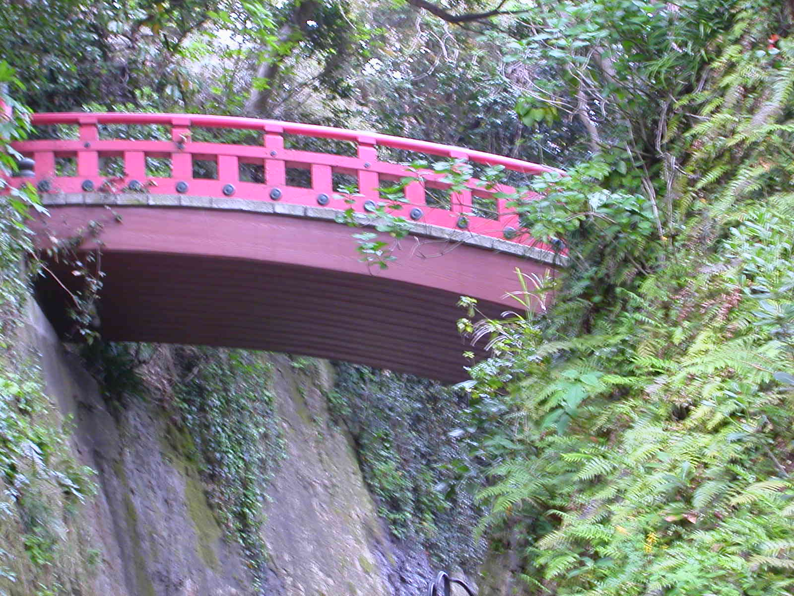 Bridge, Enoshima, Japan, april 2002