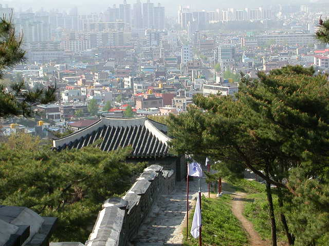 Photos of Hwaseong Fortress, Suwon, Korea