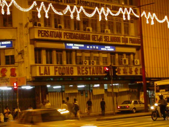 Pictures of Chinatown Kuala Lumpur Malaysia