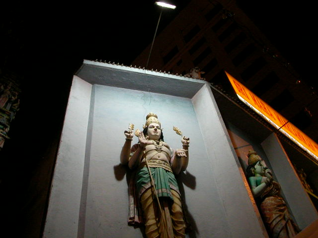 Actually this photo was taken in Chinatown and not the Little India district of Kuala Lumpur, but you get the idea...