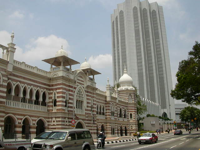 Pictures of Islamic Architecture in Kuala Lumpur Malaysia