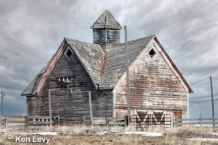 Livery barn<BR> Lago, Idaho photo
