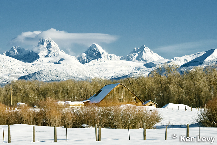 Barn Grand Tetons Photo