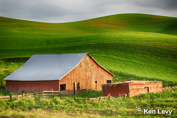 Sunset Barn Palouse