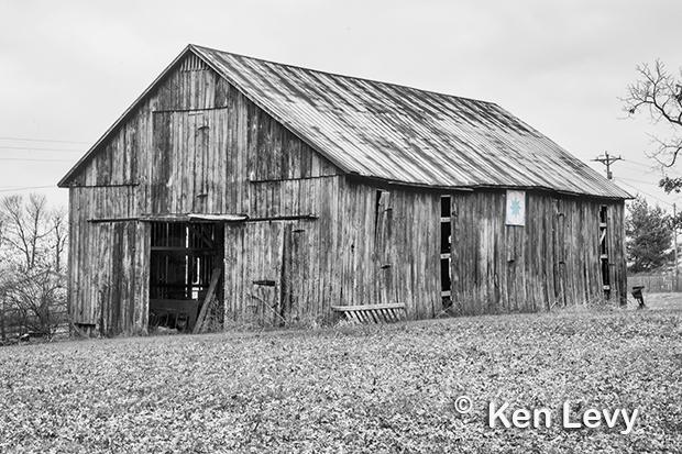 Barn, star, Lexington Kentucky