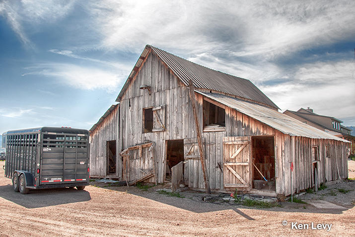 Barn Victor Idaho photograph