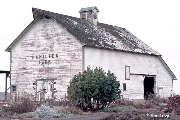 Hamilton Barn, Goldendale WA