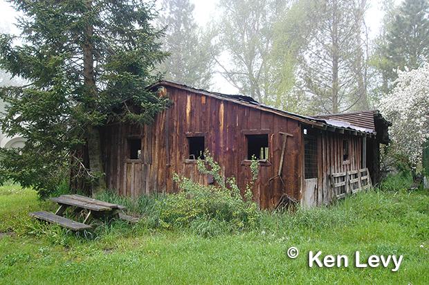 Idaho City Barn