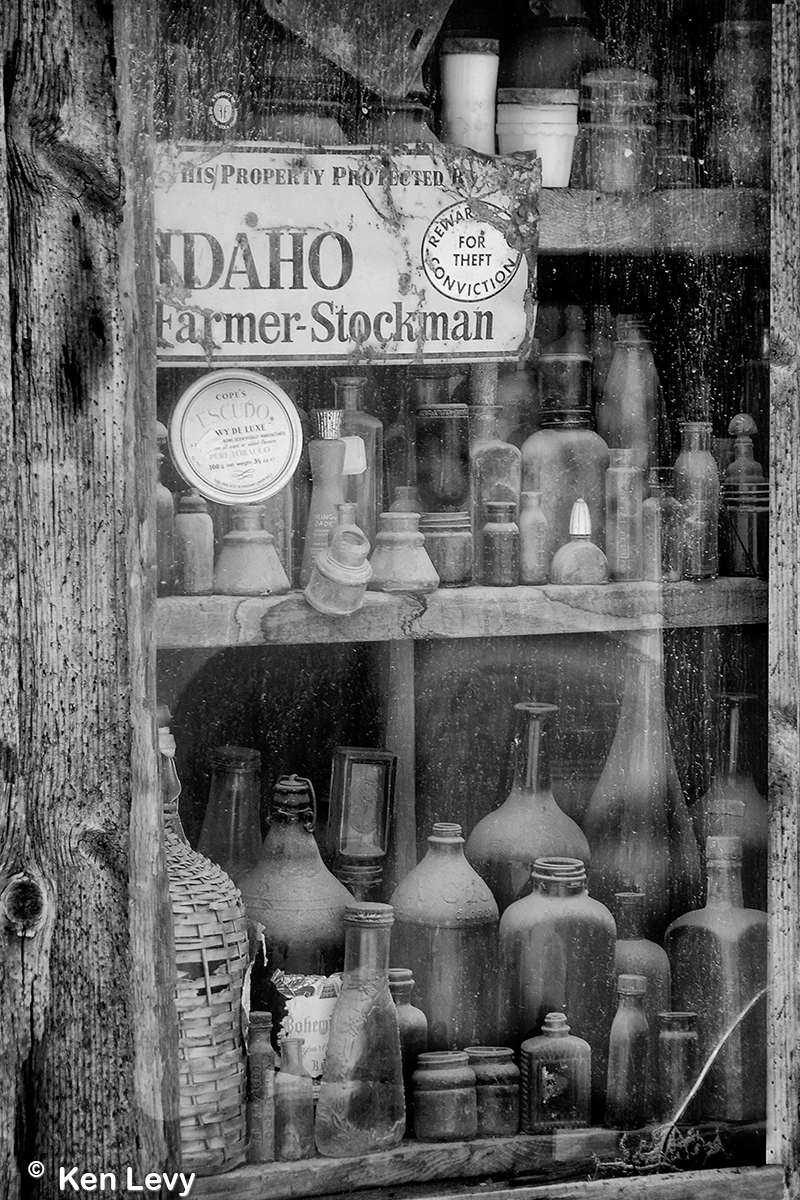 junk shop window