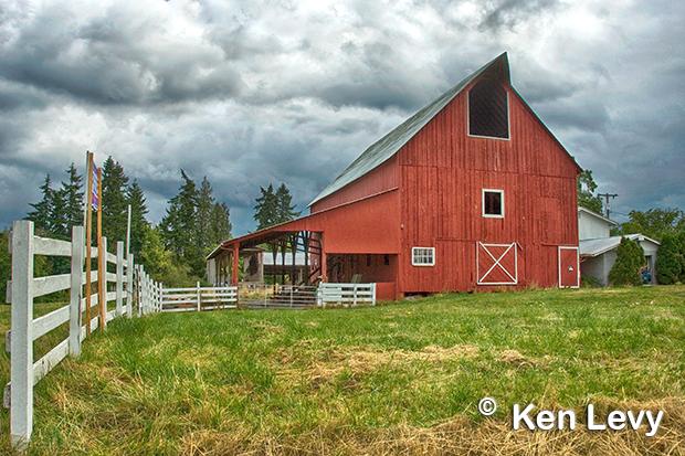 Barn photo, Ridgefield, WA