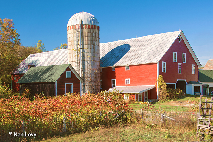 Vermont farm barn